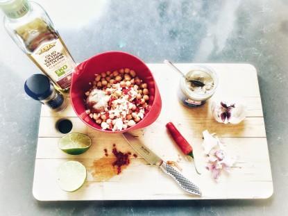 Förberedelse till hummus